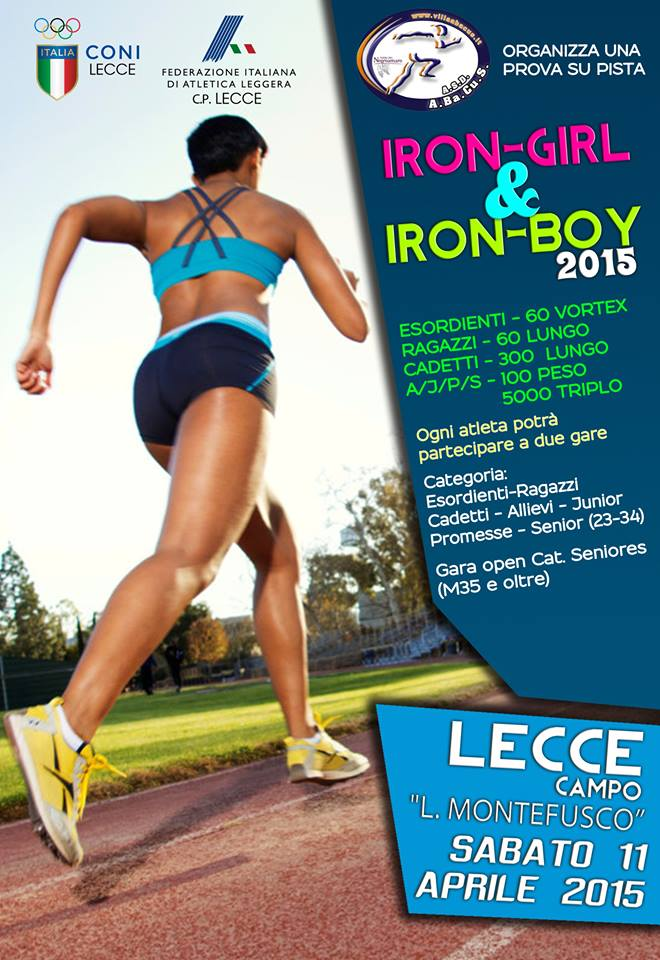 Iron-Boy e Iron-Girl 2015
