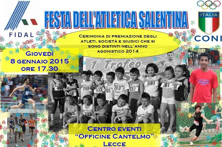 Festa dell`Atletica Salentina 2014